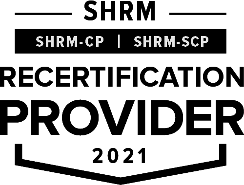SHRM Recertification Provider CP SCP Seal 2021